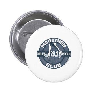 Marathon Club 6 Cm Round Badge