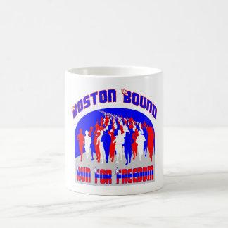 Marathon Coffee Cup -- Run for Freedom Coffee Mugs