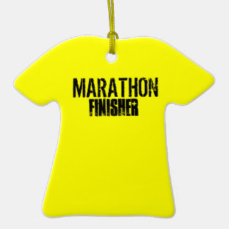 Marathon Finisher Tee Ornament