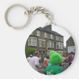 Marathon in London 2010 Basic Round Button Key Ring
