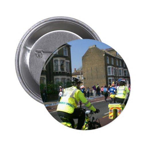 Marathon in London Pinback Button