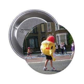 Marathon in London Button