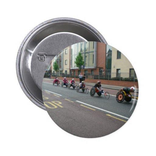 Marathon in London Pins