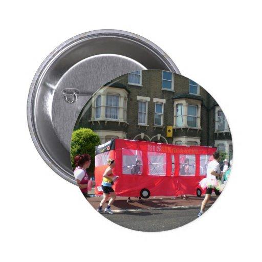 Marathon in London Pin