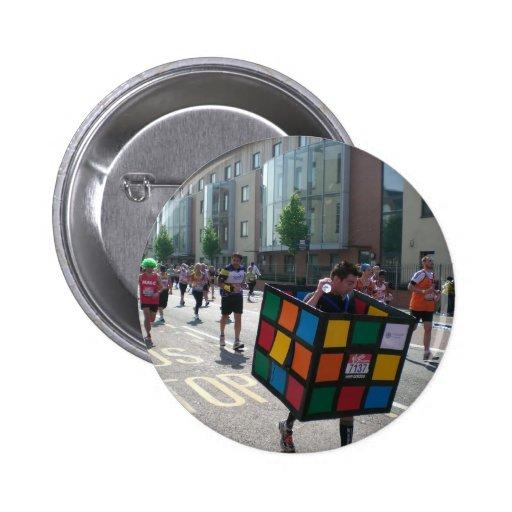 Marathon in London Pinback Buttons