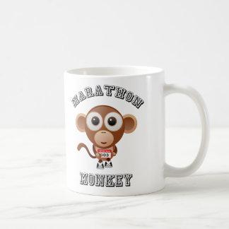 Marathon Monkey Coffee Mug