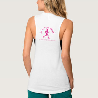Marathon Race for Breast Cancer Awareness Tank Top