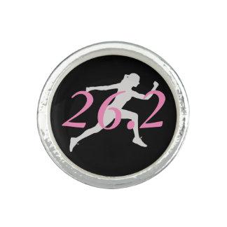 Marathon Ring, Gift For Runner, 26.2