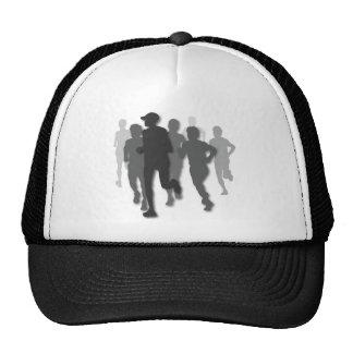 marathon runner hat