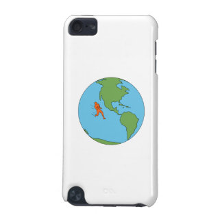 Marathon Runner Running North and South America Dr iPod Touch 5G Case