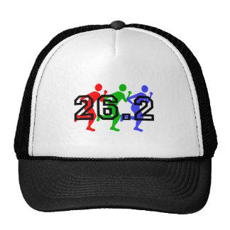 Marathon runners hats