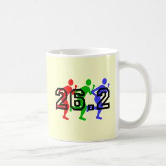 Marathon runners coffee mugs