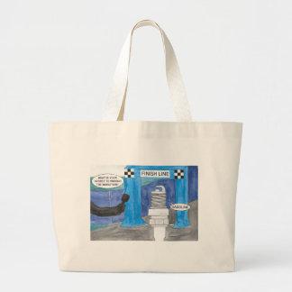 Marathon Sparkplug Large Tote Bag