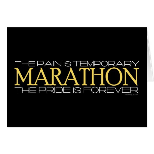 Marathon - The Pride is Forever Cards