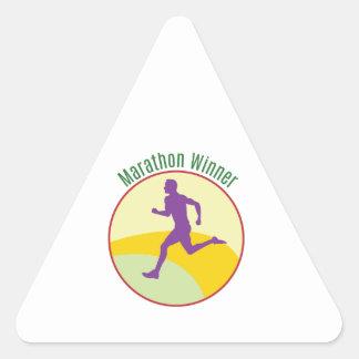 Marathon Winner Stickers