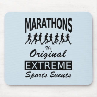 MARATHONS, the original extreme sports events Mouse Pad