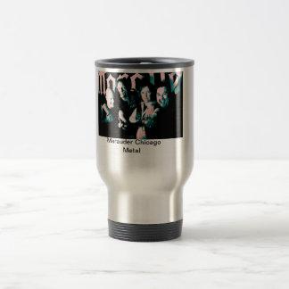 Marauder photo silver travel mug