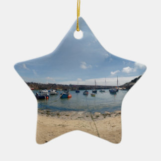 marazion harbour ceramic ornament