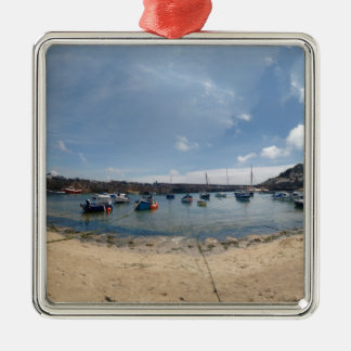 marazion harbour metal ornament