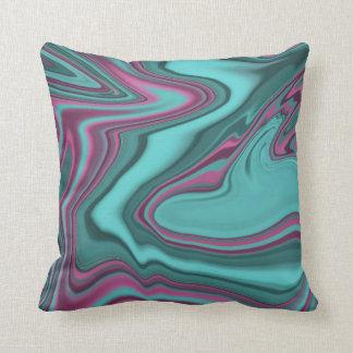 Marble agate pattern cushion