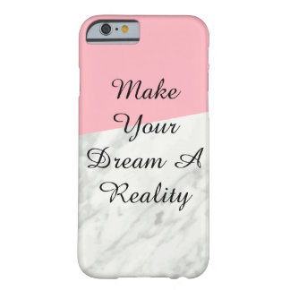 Marble And Pink Phone Case