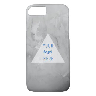 Marble and quote iPhone 8/7 case