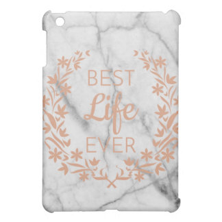 Marble Best Life Ever  IPad Case