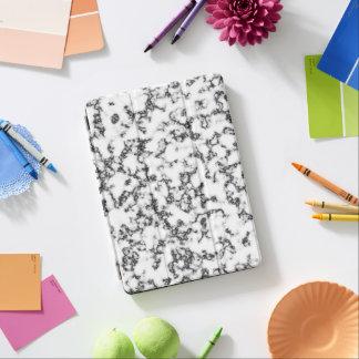 Marble black white iPad air cover