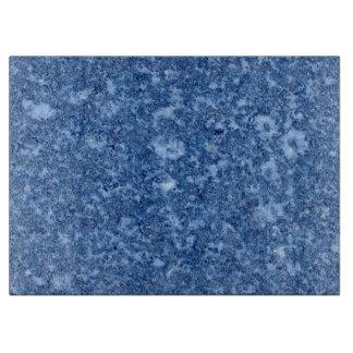 MARBLE BLUE CUTTING BOARD