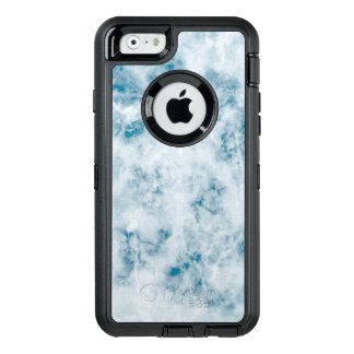 Marble Blue Texture Background OtterBox iPhone 6/6s Case