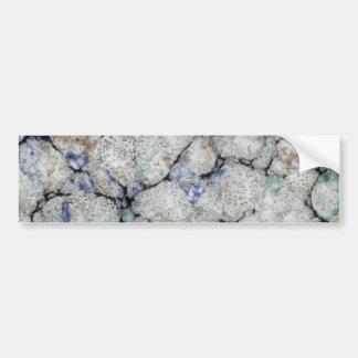 Marble Bumper Sticker