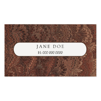 Marble-Card 2 Pack Of Standard Business Cards