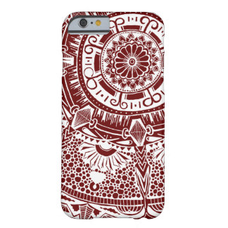 Marble circle Phone case bohemian mandala patterna