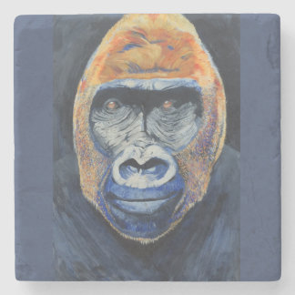 marble coaster with gorilla cover