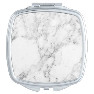 Marble Compact Mirror
