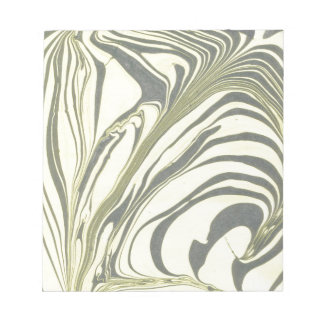 Marble design notepad