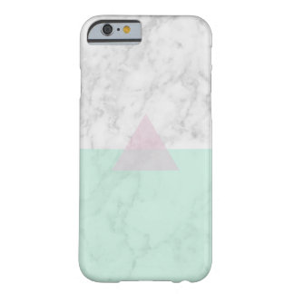 marble green barely there iPhone 6 case