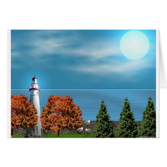 Marble Head Lighthouse Card