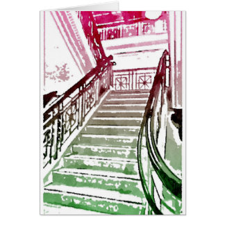 Marble Interior Note Card