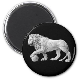 Marble Lion Magnet