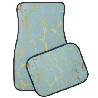 marble,mint,gold,modern,trendy,beautiful,chic,eleg car mat