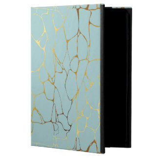 marble,mint,gold,modern,trendy,beautiful,chic,eleg cover for iPad air