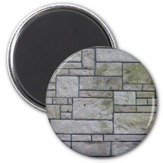 Marble mosaic wall 6 cm round magnet