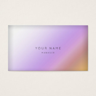 Marble Ombre Purple Mustard Minimal Manager Vip
