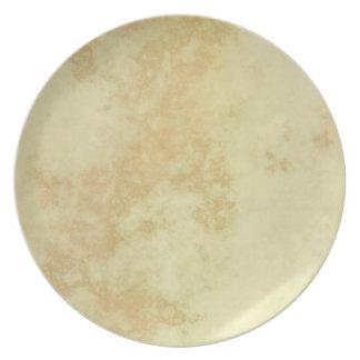 Marble or Granite Textured Dinner Plates