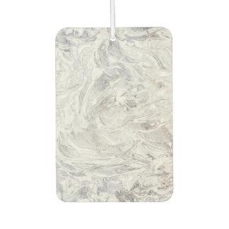 Marble pattern car air freshener