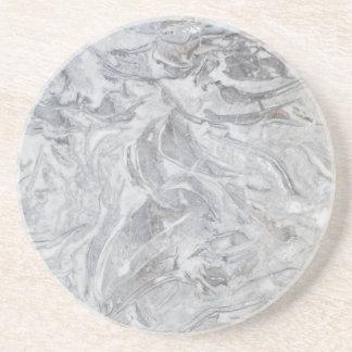 Marble pattern coaster