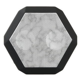 Marble Pattern Gray White Marbled Stone Background Black Bluetooth Speaker