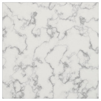 Marble Pattern Gray White Marbled Stone Background Fabric