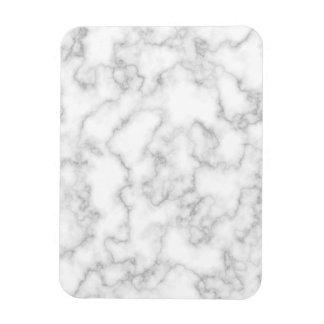Marble Pattern Gray White Marbled Stone Background Rectangular Photo Magnet